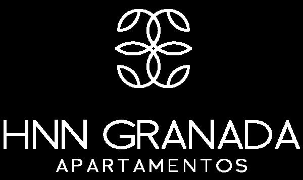 Logo blanco HNN Granada Apartamentos
